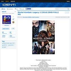 Mortal Kombat: Legacy 2 [2014] [DVD FULL] MG