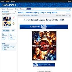 Mortal Kombat Legacy Temp 1 720p MEGA