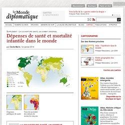 Dépenses de santé et mortalité infantile dans le monde, par Cécile Marin (Le Monde diplomatique, janvier 2014)