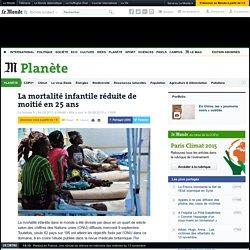 La mortalité infantile réduite de moitié en 25 ans