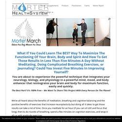 Morter March Monday - Morter HealthSystem