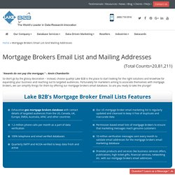 Loan Bankers Mailing Addresses