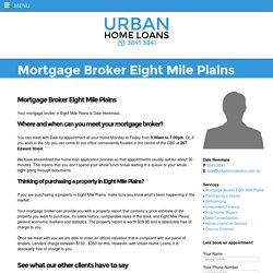 Mortgage Broker Eight Mile Plains