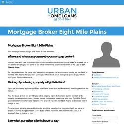 Mortgage Broker Eight Mile Plains