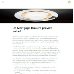 How mortgage brokers help their clients?