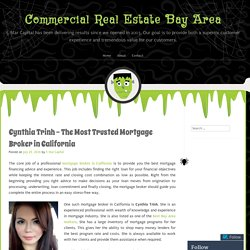 Cynthia Trinh – The Most Trusted Mortgage Broker in California