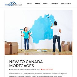 Mortgage Okanagan Blog