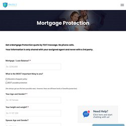 Mortgage Protection - Protect With Insurance