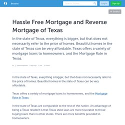 Houston Mortgage