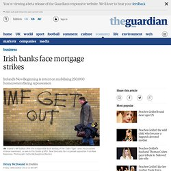 Irish banks face mortgage strikes