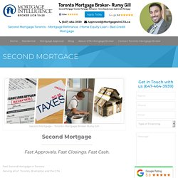 Second Mortgage Toronto - Ge Fast Approval for 2nd mortgage!