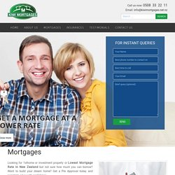 Get Lowest Mortgages Rates by Advisors in Auckland, New Zealand - Kiwimortgages.net.nz