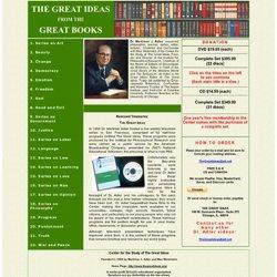 Mortimer Adler Videos on The Great Ideas