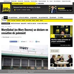 MoryGlobal (ex-Mory Ducros) se déclare en cessation de paiement