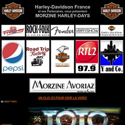 HOG France : MORZINE Harley-Days 2015
