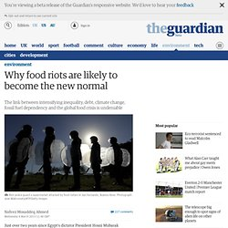 Why food riots are likely to become the new normal