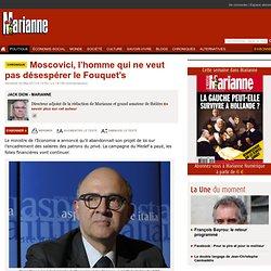 Moscovici, l'homme qui ne veut pas désespérer le Fouquet's