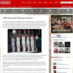 Moscow Olympic Games 1980
