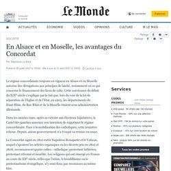 En Alsace et en Moselle, les avantages du Concordat