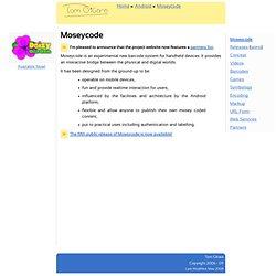 Moseycode