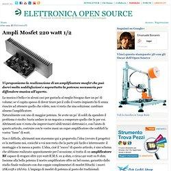 Ampli Mosfet 220 watt 1/2