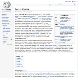 Loren Mosher