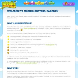 Moshi Monsters - Parents