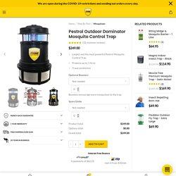 Mosquito Control Trap Pestrol Outdoor Dominator Trap - Buy Online