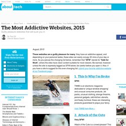 The Most Addictive Websites, 2013