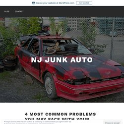 4 Most Common Problems You May Face With Your Old Car – NJ Junk Auto