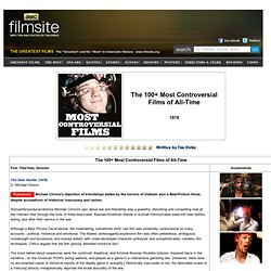100 Most Controversial Films of All Time