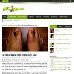 10 Most Effective Home Remedies for Gout