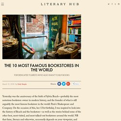 The 10 Most Famous Bookstores in the World