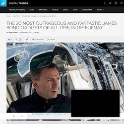 The 20 Most Fantastic James Bond Gadgets