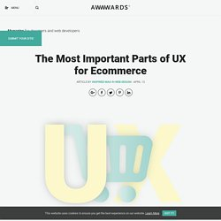 The Most Important Parts of UX for Ecommerce