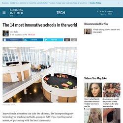Les 14 écoles les plus innovantes au monde :-)