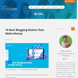 10 Most Profitable Blog Niches That Make Money in 2020