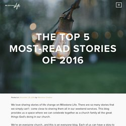 The Top 5 Most-Read Stories of 2016