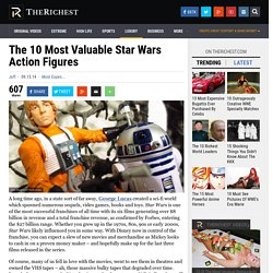 The 10 Most Valuable Star Wars Action Figures