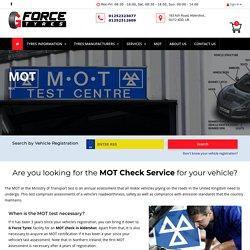 MOT Test Aldershot