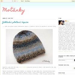 Motánky: Základní pletená čepice