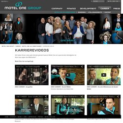 Motel One - Karrierevideos