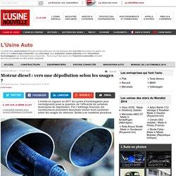 Moteur diesel : vers une dépollution selon les usages ? - L'Usine Auto