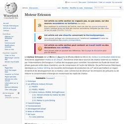 Moteur Ericsson