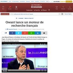 Médias & Publicité : Qwant lance un moteur de recherche français