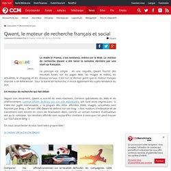 Qwant, le moteur de recherche français et social