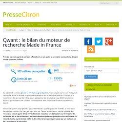 Qwant : le moteur de recherche français, 5 mois après
