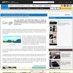 Le moteur de recherche du futur, selon Google