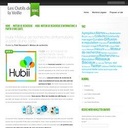 Hubii. Moteur de recherche d'informations a partir d'une carte