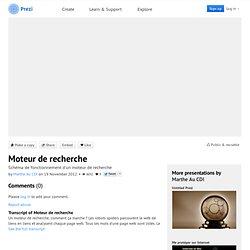 Moteur de recherche by Marthe Au CDI on Prezi